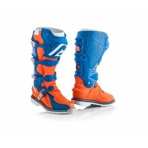 Мотоботы кроссовые X-MOVE 2.0 BLUE ORANGE