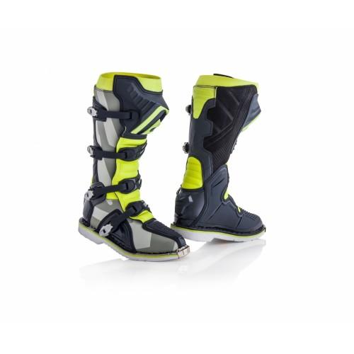 Мотоботы кроссовые X-PRO V. BOOTS GREY YELLOW