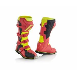 Мотоботы кроссовые X-PRO V. BOOTS RED YELLOW