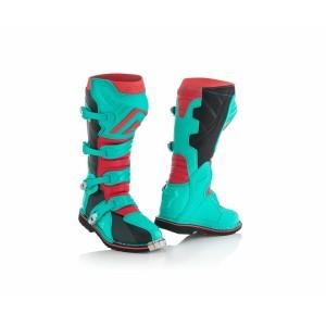 Мотоботы кроссовые X-PRO V. BOOTS GREEN RED