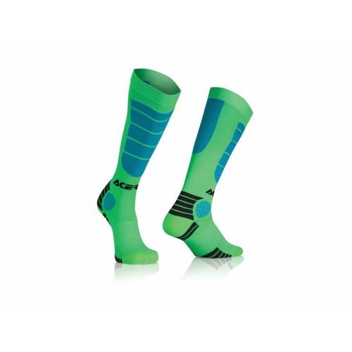 Гольфы кроссовые MX IMPACT SOCKS GREEN BLUE