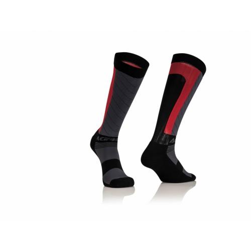Носки компрессионные MX COMPRESSION BLACK RED