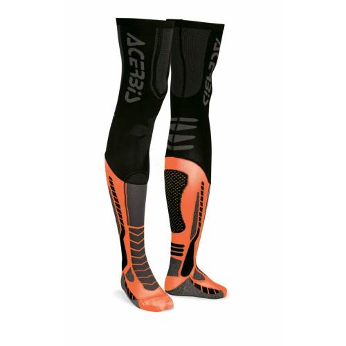 Чулки кроссовые X-LEG PRO SOCKS BLACK ORANGE