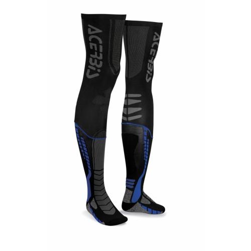 Чулки кроссовые X-LEG PRO SOCKS BLACK BLUE