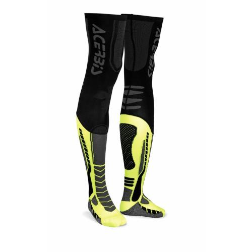 Чулки кроссовые X-LEG PRO SOCKS BLACK YELLOW