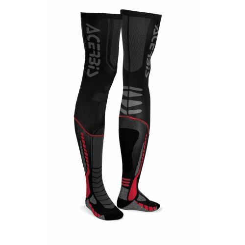 Чулки кроссовые X-LEG PRO SOCKS BLACK RED