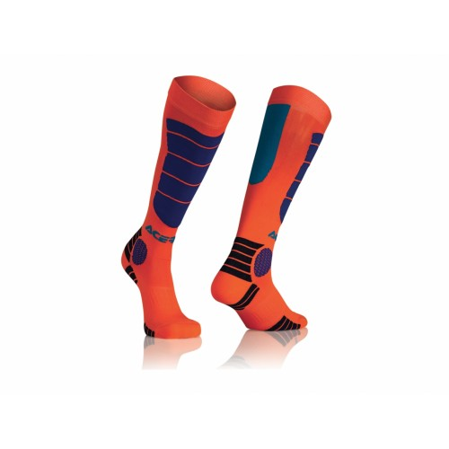 Гольфы кроссовые MX IMPACT KID SOCKS ORANGE BLUE