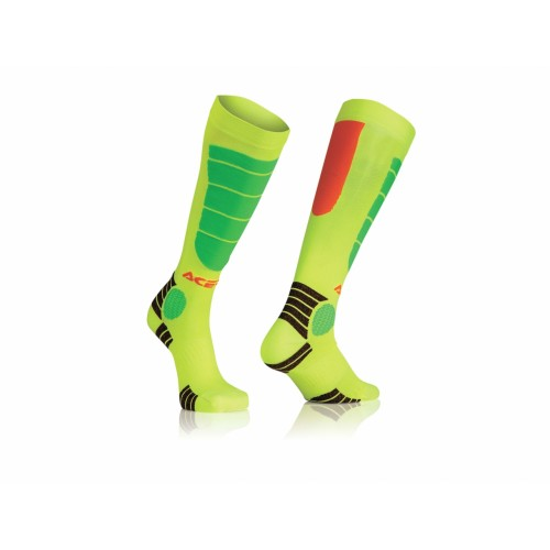 Гольфы кроссовые MX IMPACT KID SOCKS ORANGE YELLOW