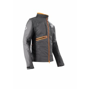 Мотокуртка ENDURO JACKET OFF ROAD GEAR BLACK ORANGE
