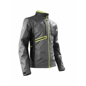 ENDURO JACKET OFF ROAD GEAR BLACK YELLOW