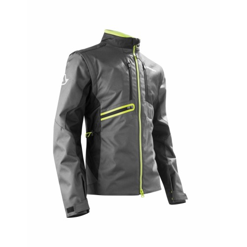 Мотокуртка ENDURO JACKET OFF ROAD GEAR BLACK YELLOW