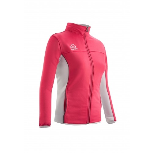 BELATRIX WOMAN TRACKSUIT JACKET FUSCIA WHITE