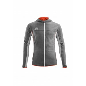BELATRIX HOODIE SWEATSHIRT GREY ORANGE