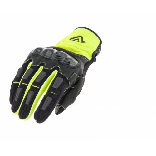 Перчатки CE CARBON G 3.0 GLOVES YELLOW BLACK