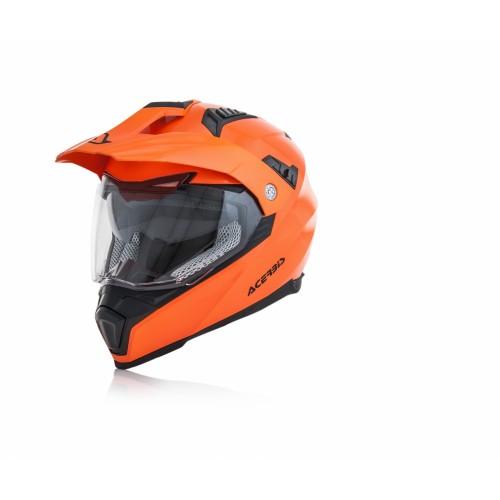 Шлем кроссовый FLIP FS-606 ORANGE FLOU