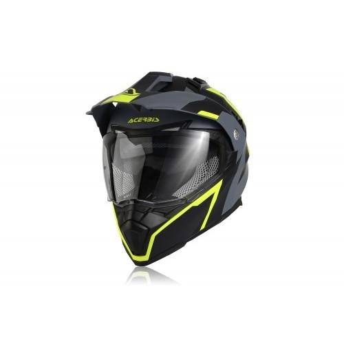 Шлем кроссовый FLIP FS-606 BLACK GREY