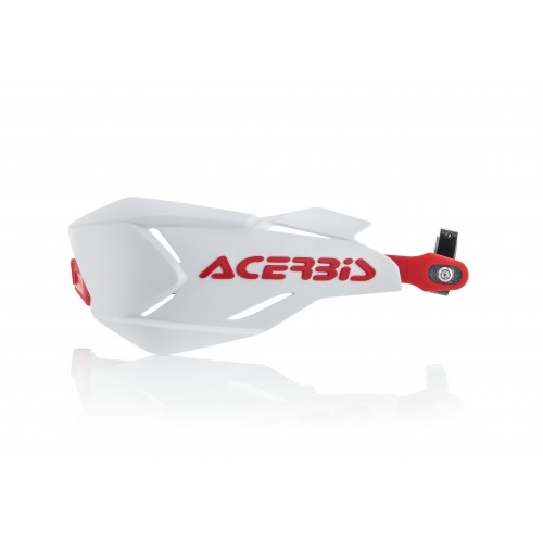 X-FACTORY HANDGUARDS WHITE RED