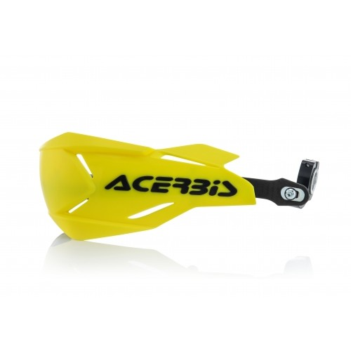 X-FACTORY HANDGUARDS YELLOW  BLACK