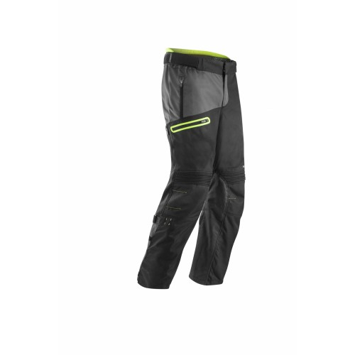 Мотобрюки ENDURO PANTS BLACK YELLOW