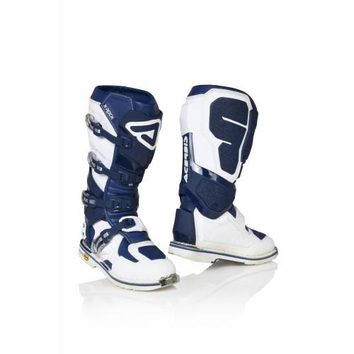 Мотоботы кроссовые X-ROCK BLUE WHITE