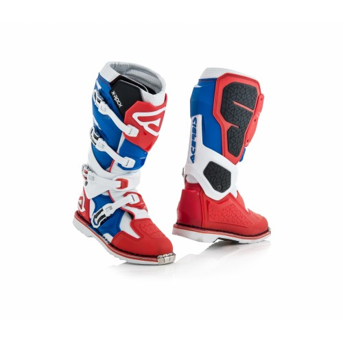 Мотоботы кроссовые X-ROCK RED BLUE