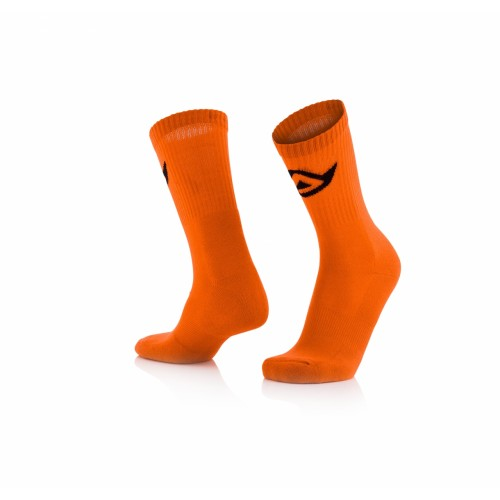 Носки COTTON SOCKS ORANGE FLUO