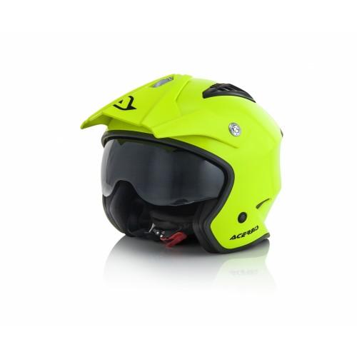 Шлем открытый JET ARIA YELLOW 2