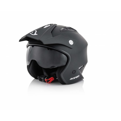 Шлем открытый JET ARIA BLACK 2