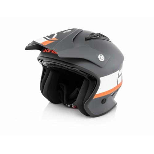 Шлем открытый JET ARIA GREY WHITE