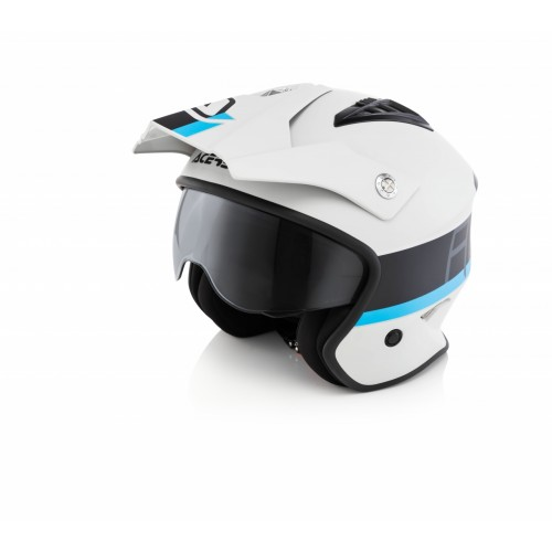 Шлем открытый JET ARIA GREY BLACK