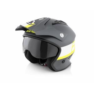 Шлем открытый JET ARIA BLACK YELLOW