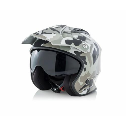 Шлем открытый JET ARIA CAMO BROWN