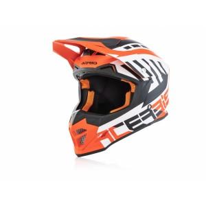 Шлем PROFILE 4 WHITE ORANGE