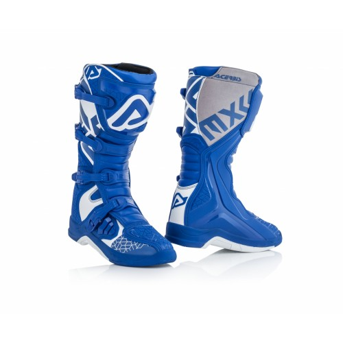 Мотоботы кроссовые X-TEAM BOOTS BLUE WHITE