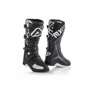 Мотоботы кроссовые X-TEAM BOOTS BLACK WHITE
