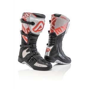 Мотоботы кроссовые X-TEAM BOOTS BLACK GREY