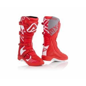 Мотоботы кроссовые X-TEAM BOOTS RED WHITE