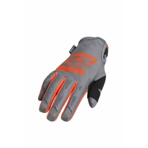 Перчатки MX-WP GLOVES ORANGE GREY