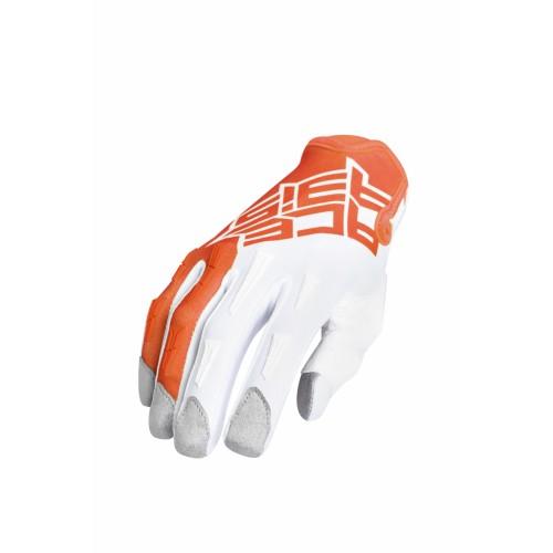 Перчатки кроссовые MX X-P GLOVES ORANGE WHITE