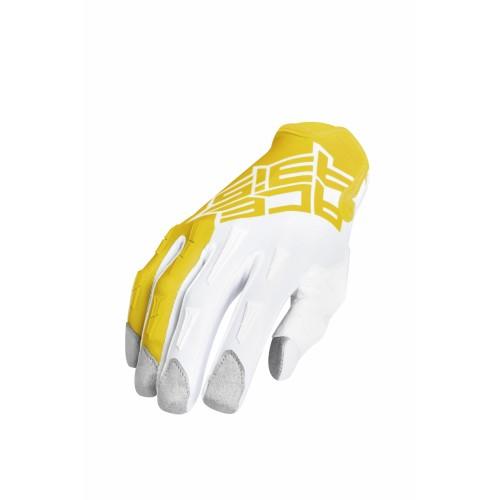 Перчатки кроссовые MX X-P GLOVES YELLOW WHITE