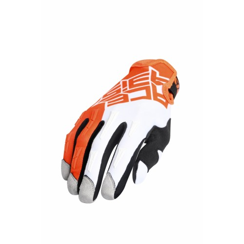 Перчатки кроссовые MX X-H GLOVES ORANGE WHITE