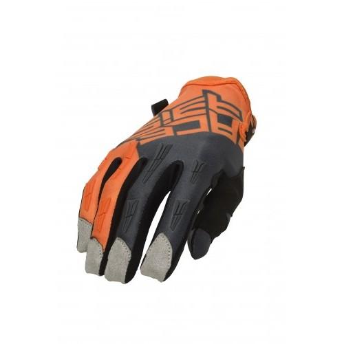 Перчатки кроссовые MX X-H GLOVES ORANGE GREY