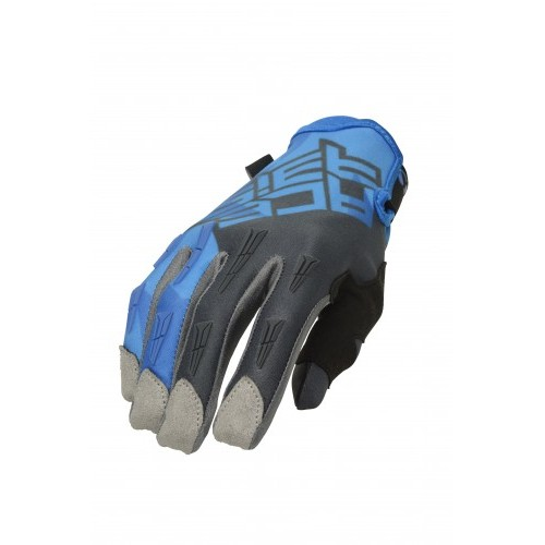 Перчатки кроссовые MX X-H GLOVES BLUE GREY