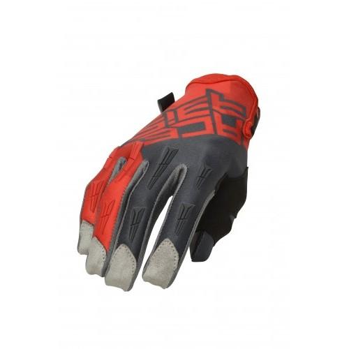 Перчатки кроссовые MX X-H GLOVES RED GREY