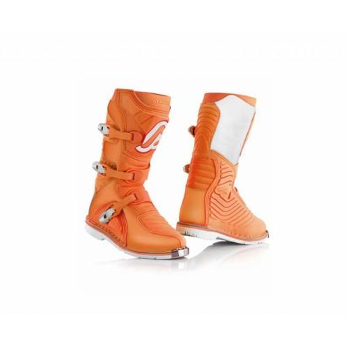 Мотоботы кроссовые X-KID BOOTS ORANGE