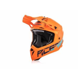 Шлем кроссовый STEEL CARBON ORANGE