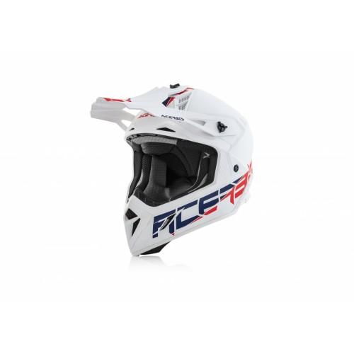 Шлем кроссовый STEEL CARBON WHITE