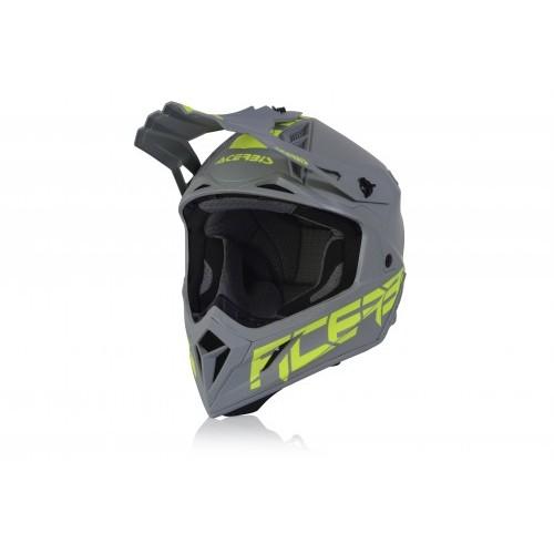 Шлем кроссовый STEEL CARBON GREY 2