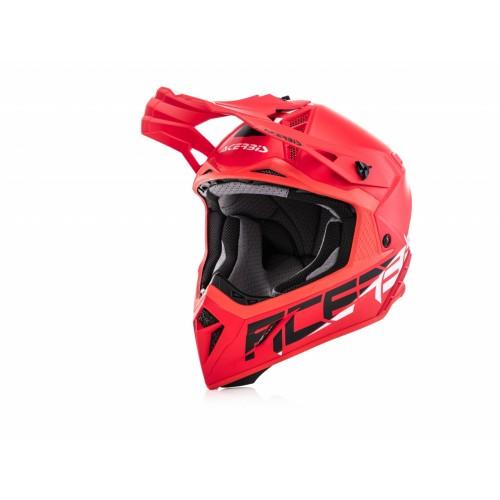 Шлем кроссовый STEEL CARBON RED