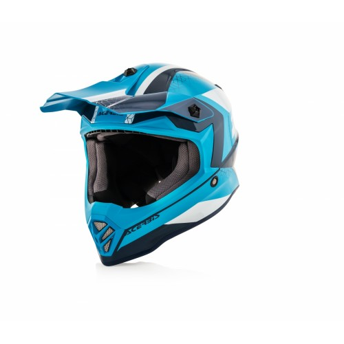 Шлем STEEL KID HELMET BLUE WHITE